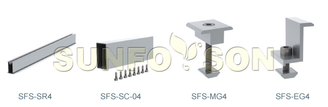 solar mounting components