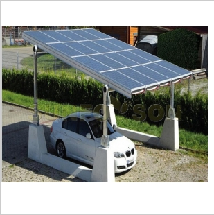 SunRack Solar Carport Mounting Structure