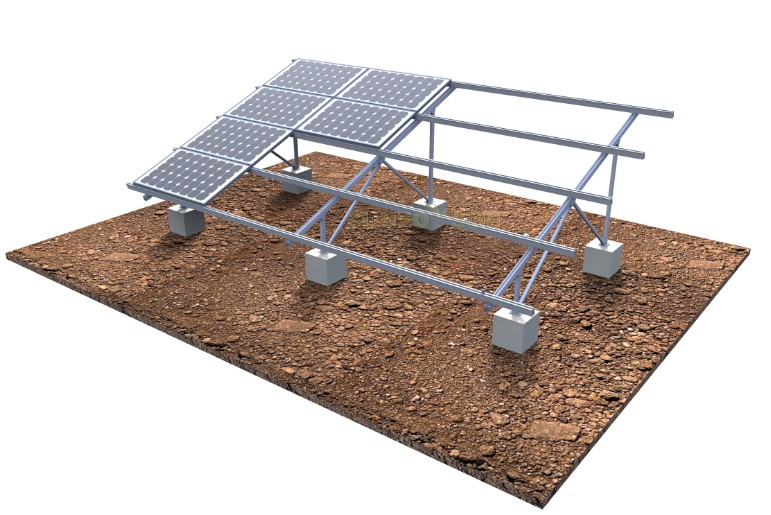 solar aluminum ground mounting system