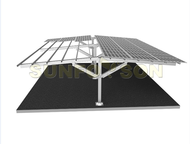 umbrella type solar carport mounting brackets