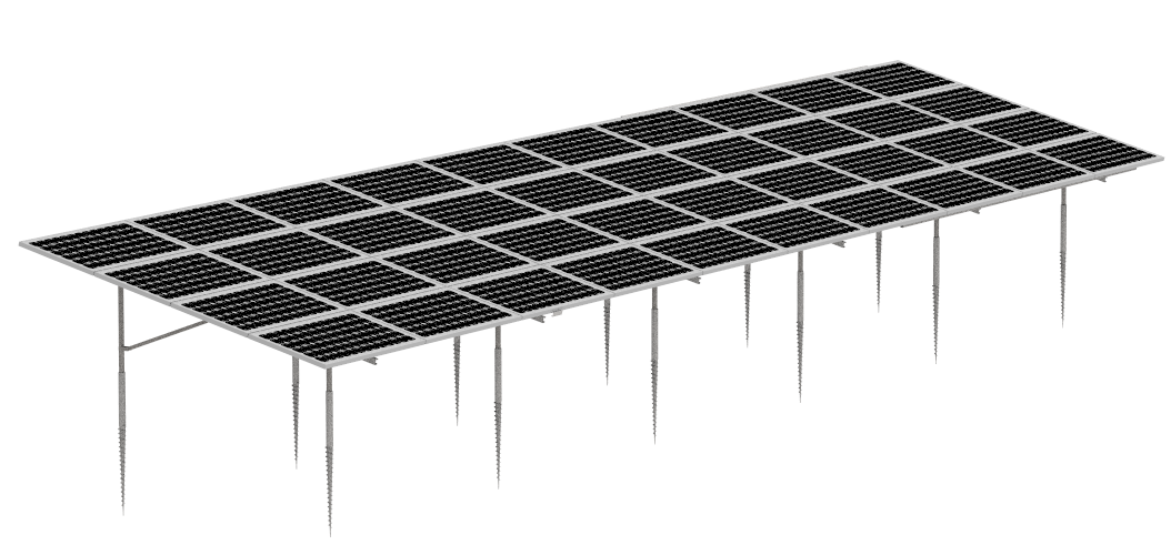 Ground Mounted Solar Rack
