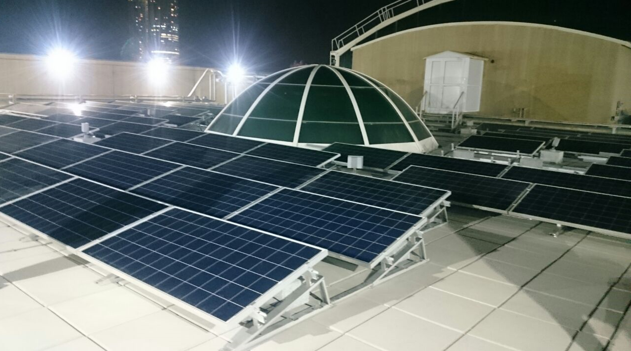 Ground Mount Solar Structure