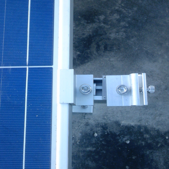 Solar Mounting Framed Solar Panel Clamps for 30-50mm Solar Module
