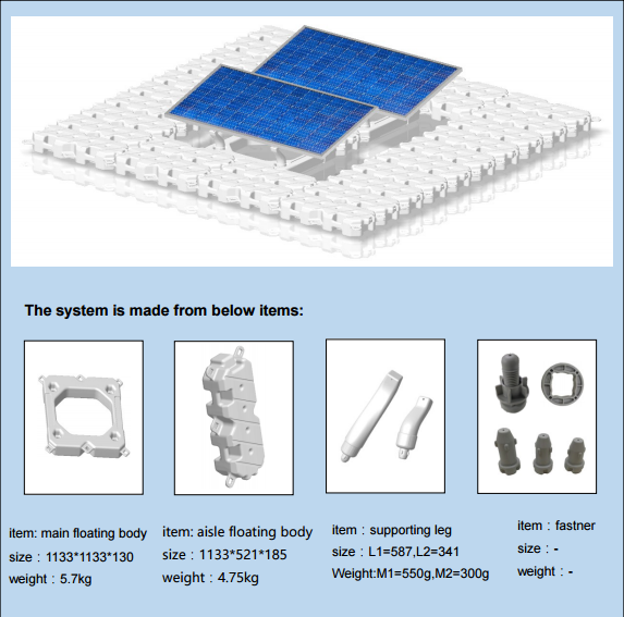 Floating Solar Structure Manufacturers