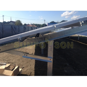 Solar Pile Mounting System