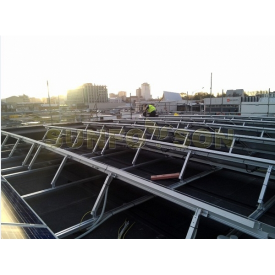 solar panel roof mounting system