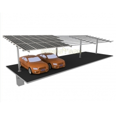 Hot Galvanizing Steel Carport Mounting Structure