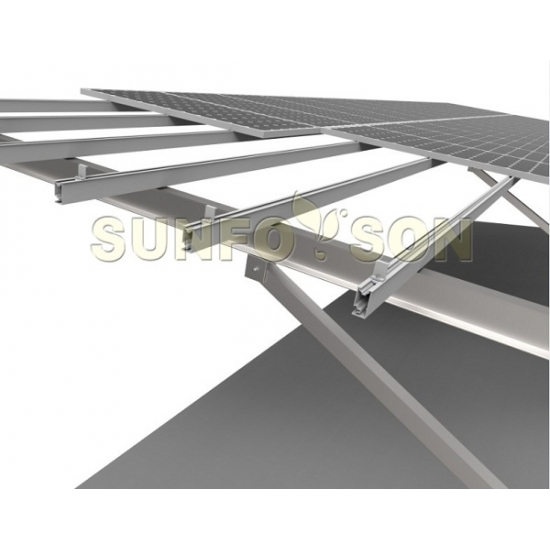 Carport Mounting Solution for Solar Panel Installation