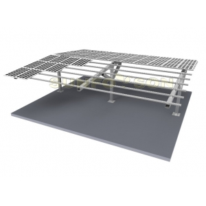 Umbrella Type Carport Mounting System