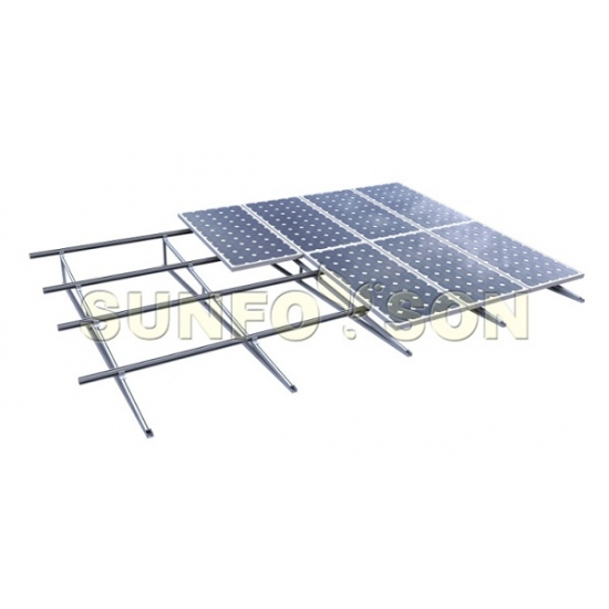 Photovoltaic Flat Roof Solar Triangular Mounting System