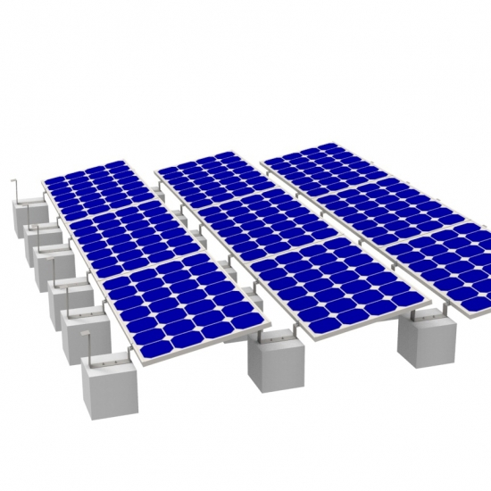 Solar Flat Roof Racking Systems