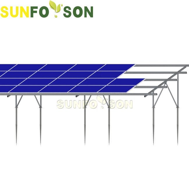 The Introduction Of Sunforson Ground Screw Mounting System