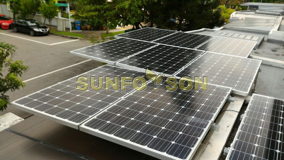 Sunrack fixed angle solar panel mounting structure